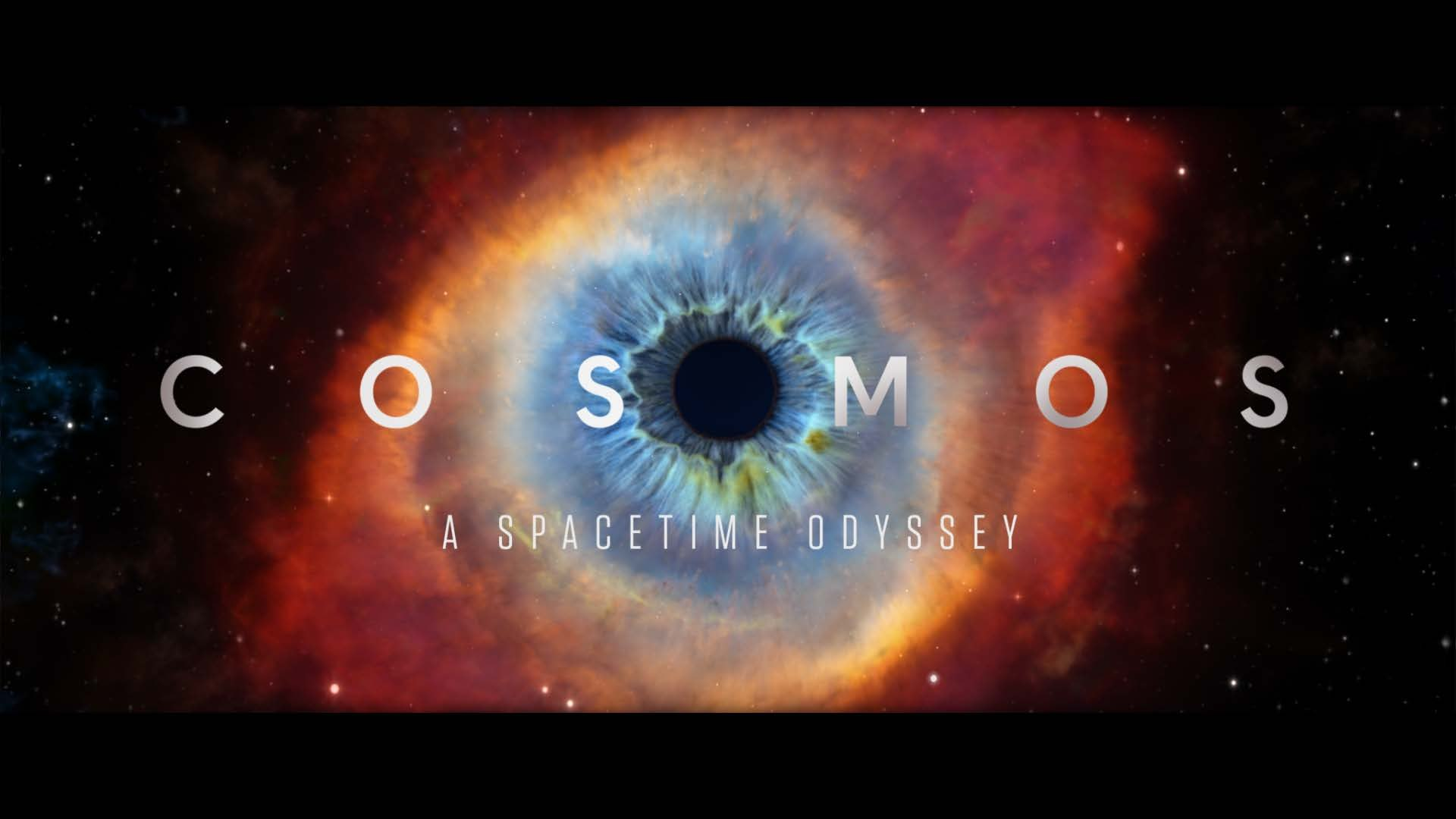 Cosmos eye in the sky logo opening