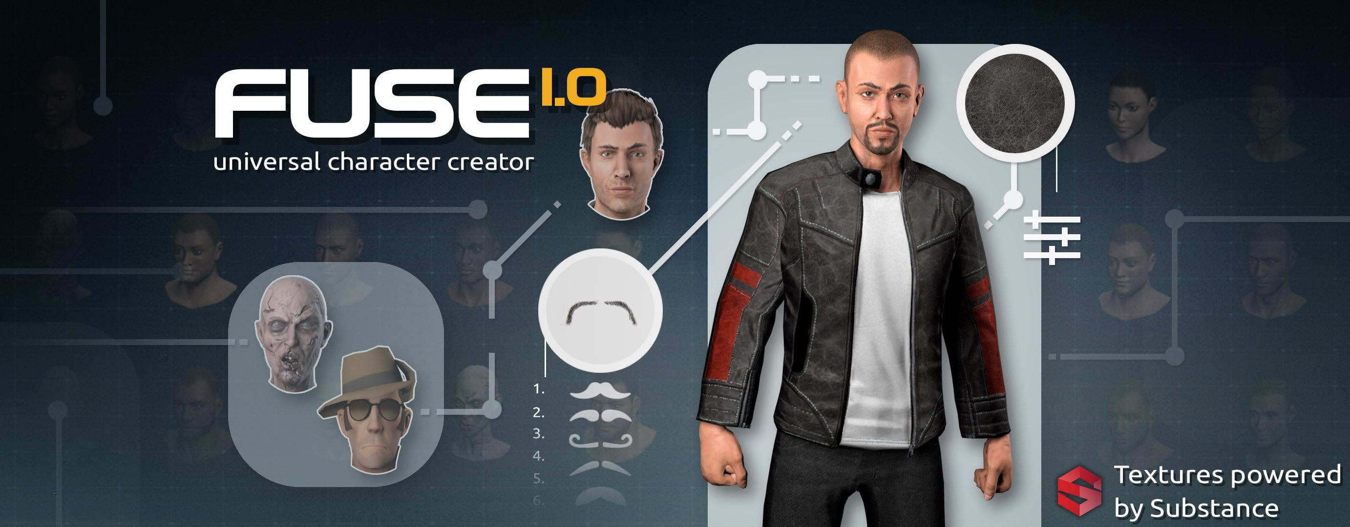 Mixamo's Fuse 1 0 Launches on Steam | Animation World Network