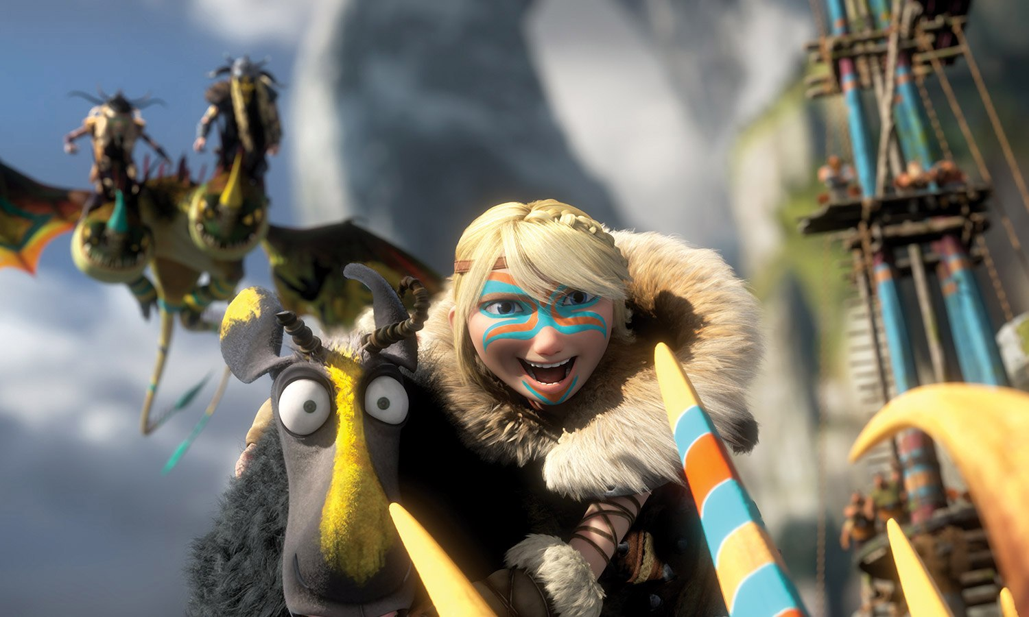 Dreamworks Unveils New How To Train Your Dragon 2