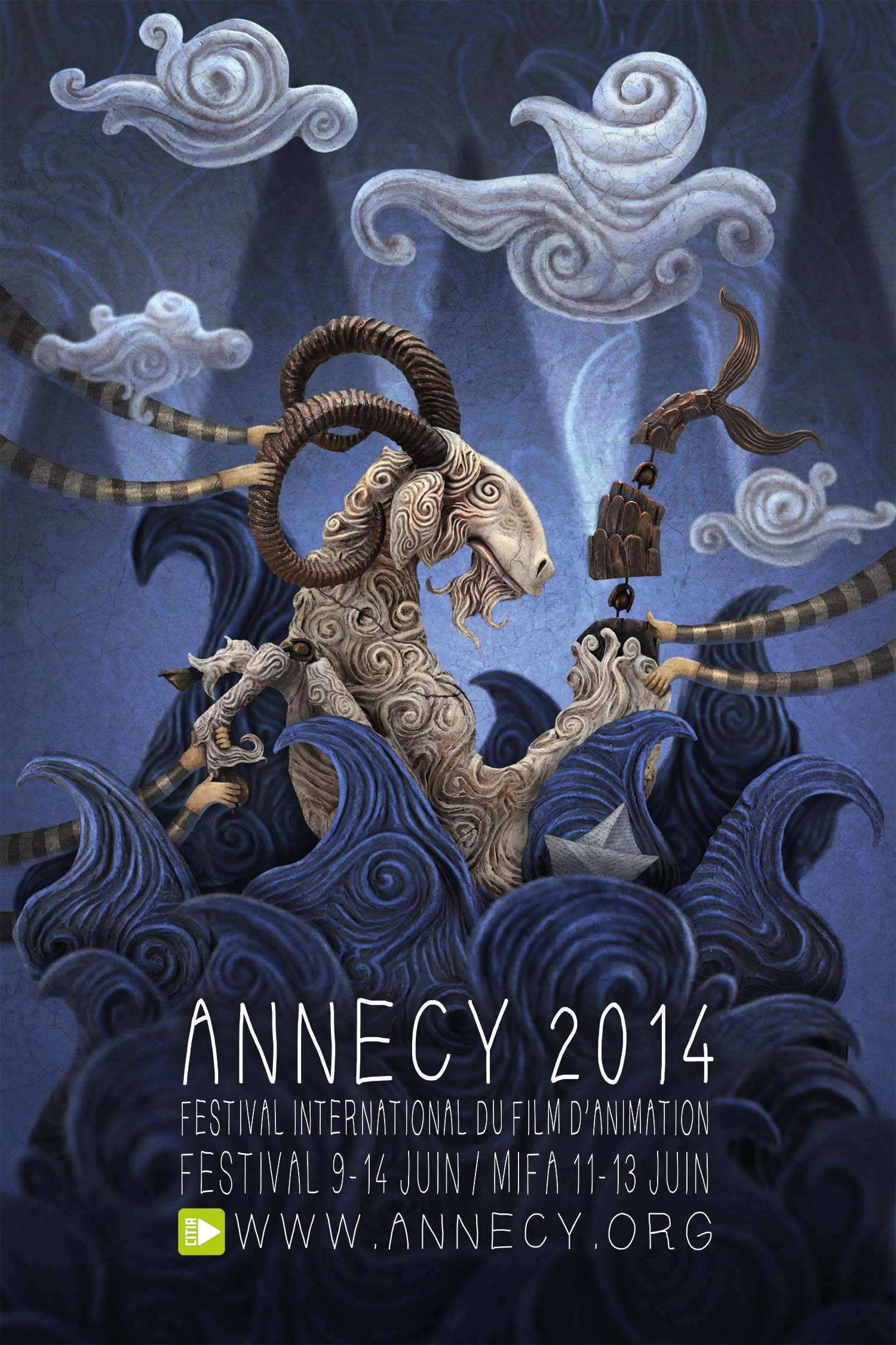 Annecy 2014 Poster By Franck Dion