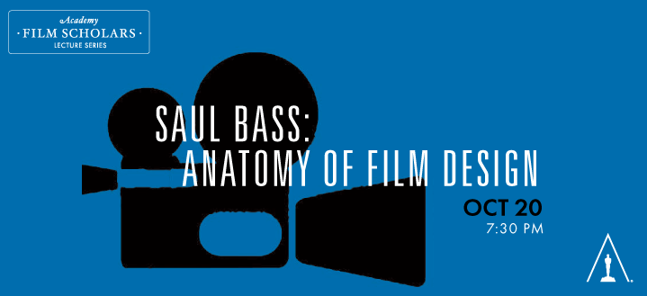 Academy To Present Saul Bass Anatomy Of Film Design Animation