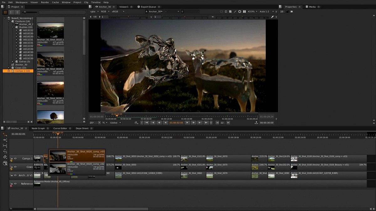 the foundry introduces nuke 9 animation world network
