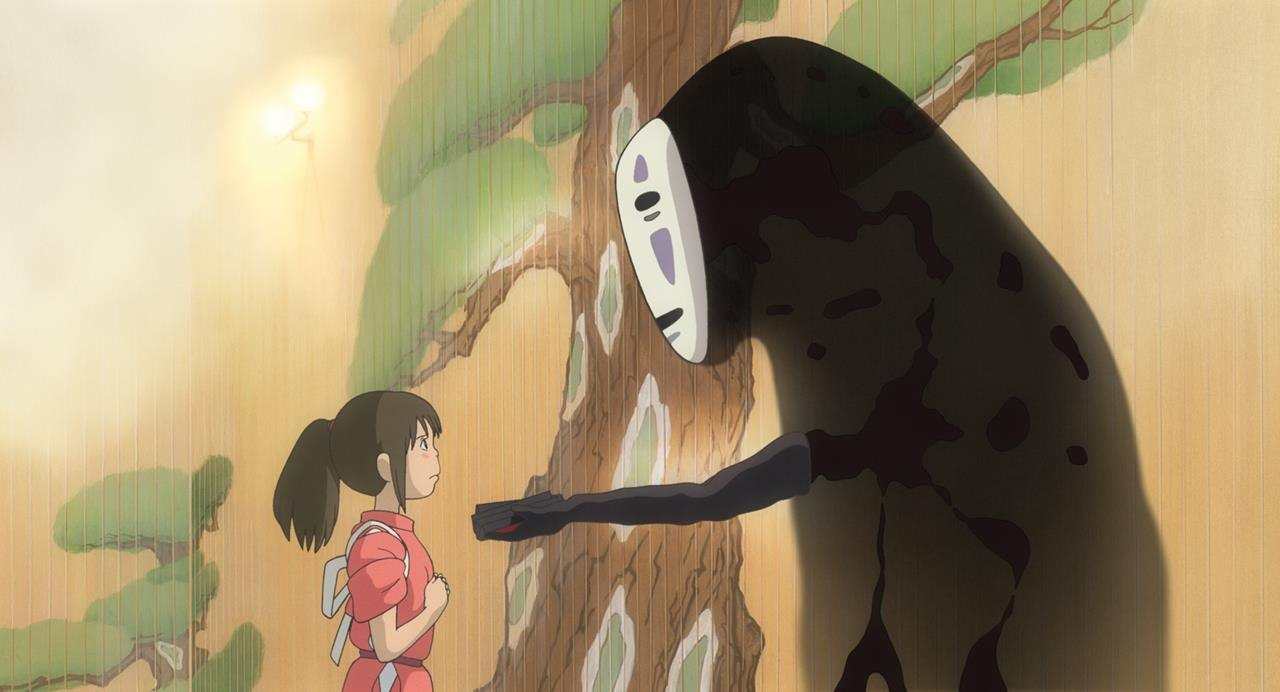 Look Background Art From Studio Ghibli S Spirited Away Animation World Network