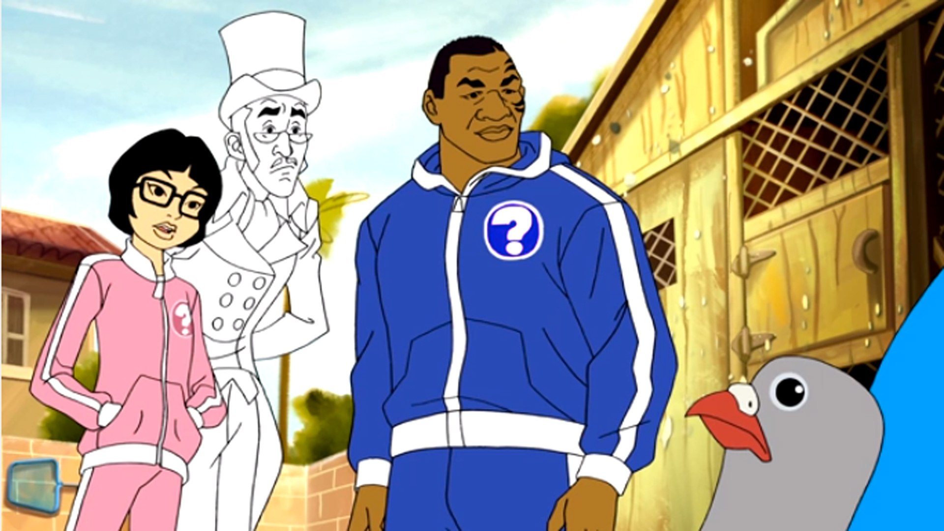 mike tyson mysteries the complete first season headed to dvd