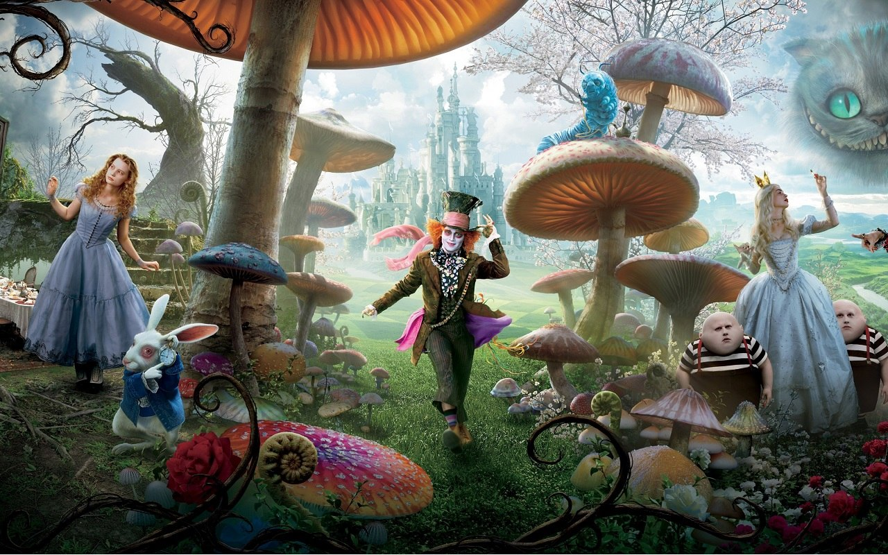 New Alice Through The Looking Glass Teaser Returns To -4473