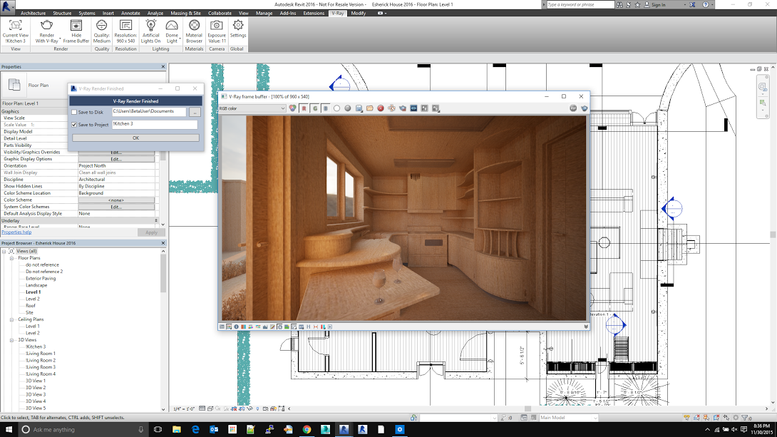 chaos group launches v ray for revit public beta animation world