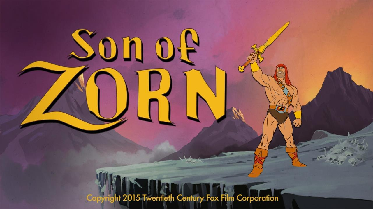 fox s son of zorn previews september 11 animation world network