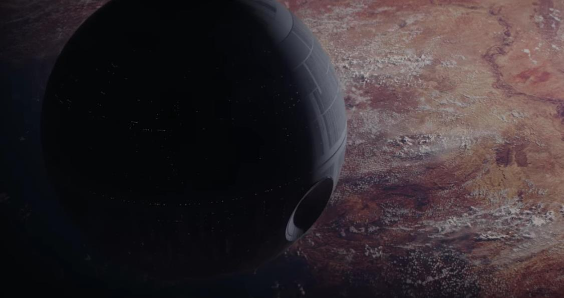Watch the death star returns in new trailer for rogue one a star