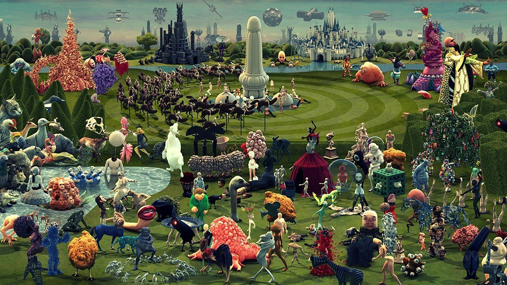 Studio Smack Reinvents Garden Of Earthly Delights With Paradise Animation World Network