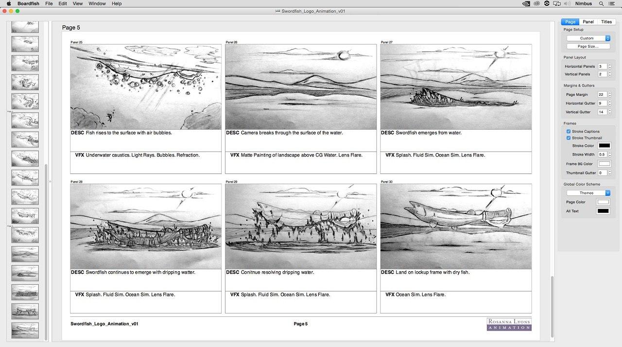 Mekajiki unveils storyboard app boardfish animation for Storyboard template app