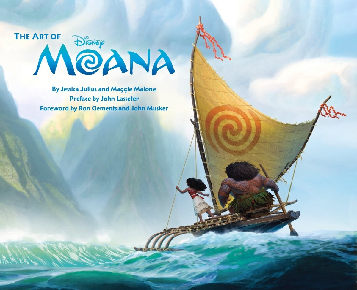 look the art of moana delves behind the scenes of disney s latest