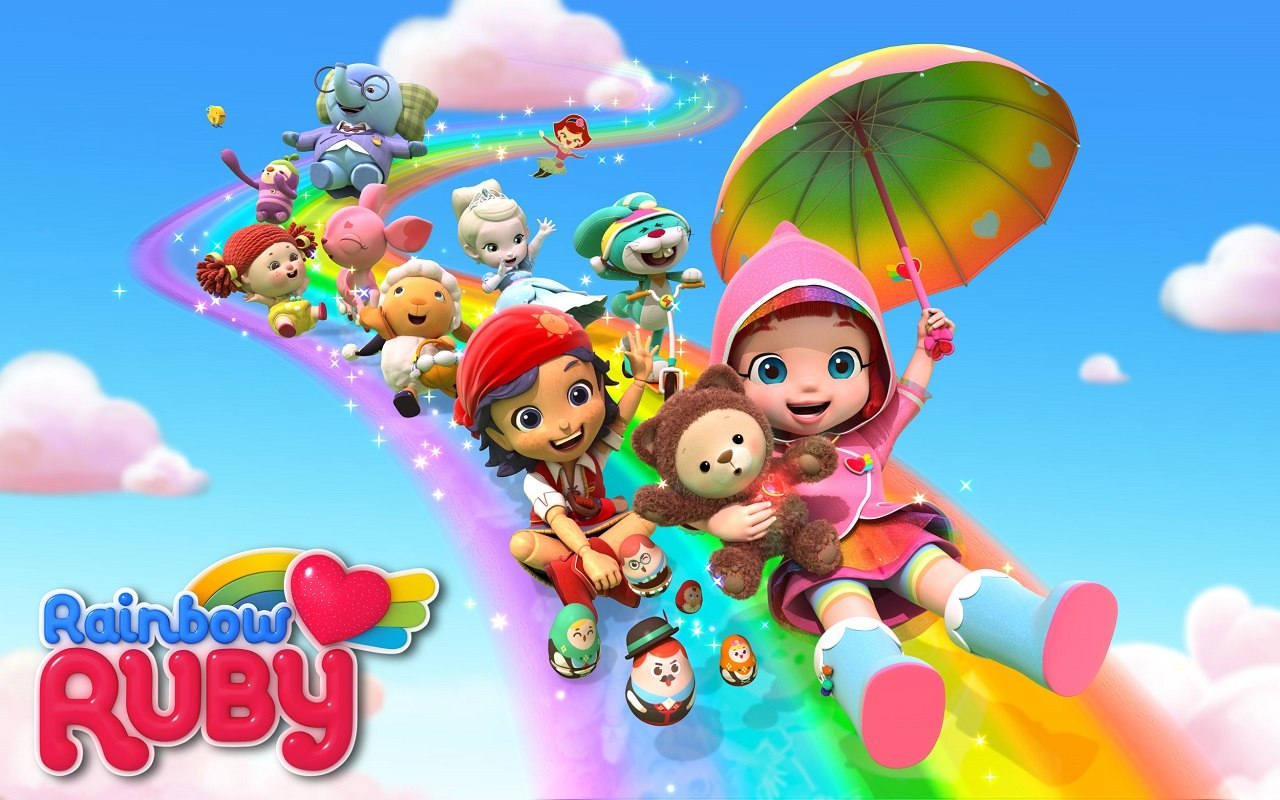 1031842 rainbow ruby expands global media partners