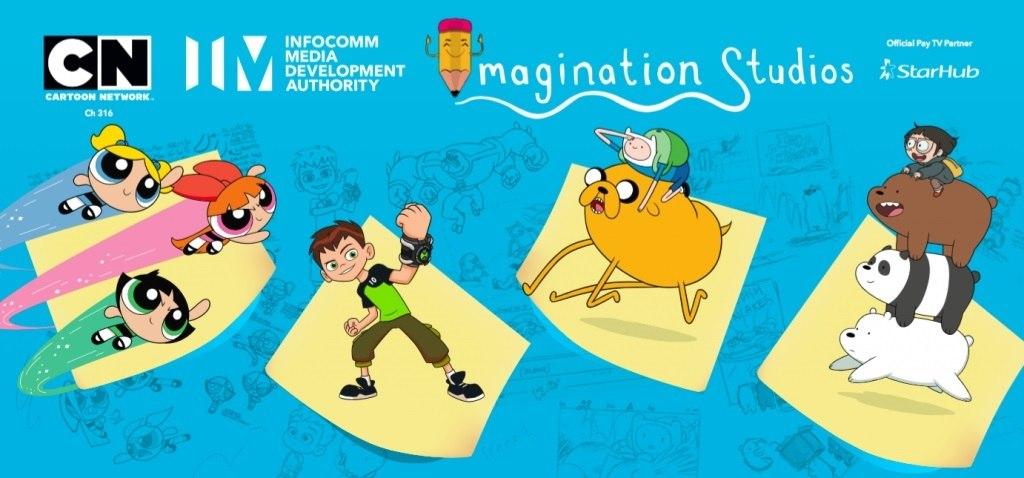 Cartoon Network Imda Launch Imagination Studios Workshop In Singapore Animation World Network