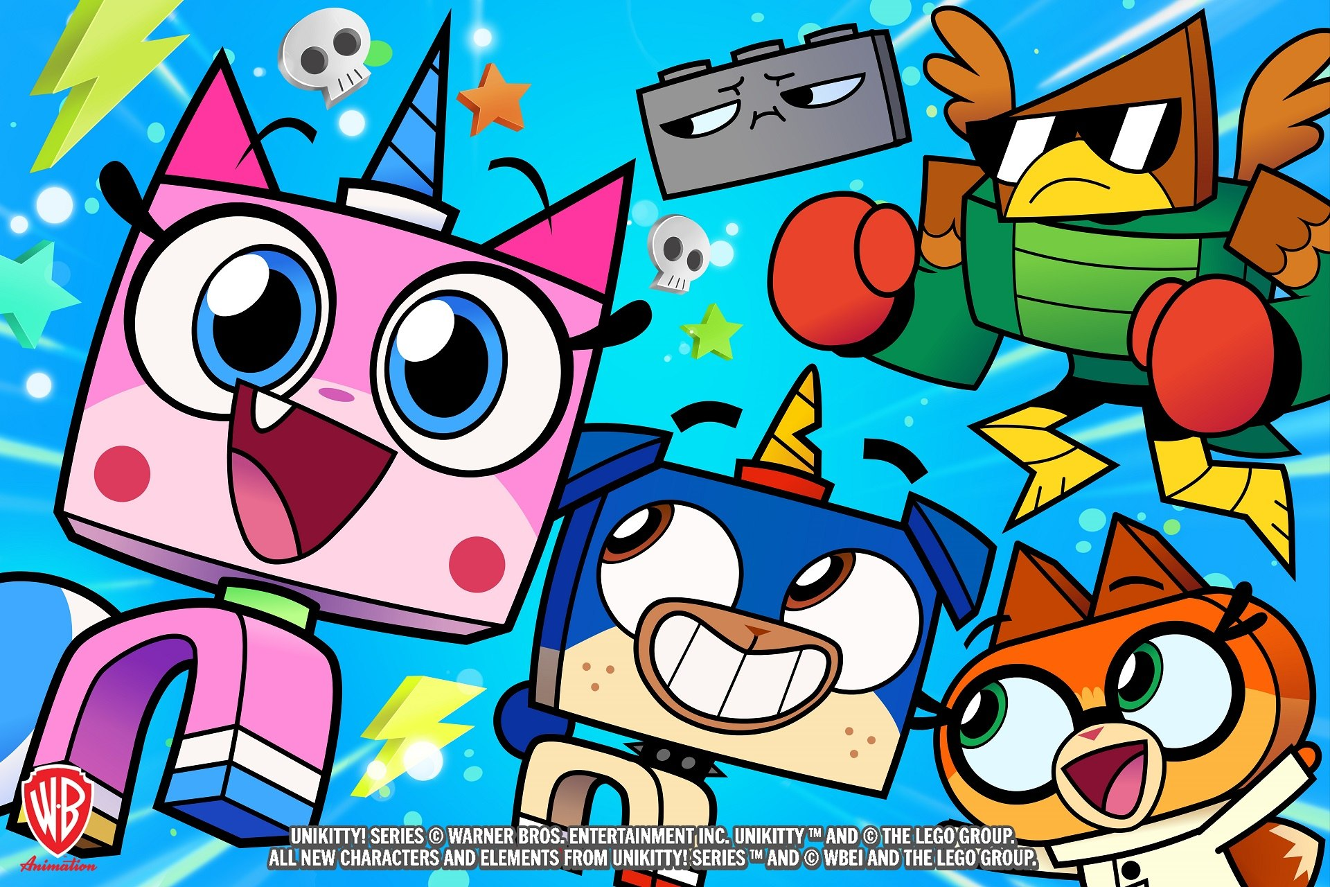 Cartoon network greenlights unikitty series from warner for Fishs eddy coupon