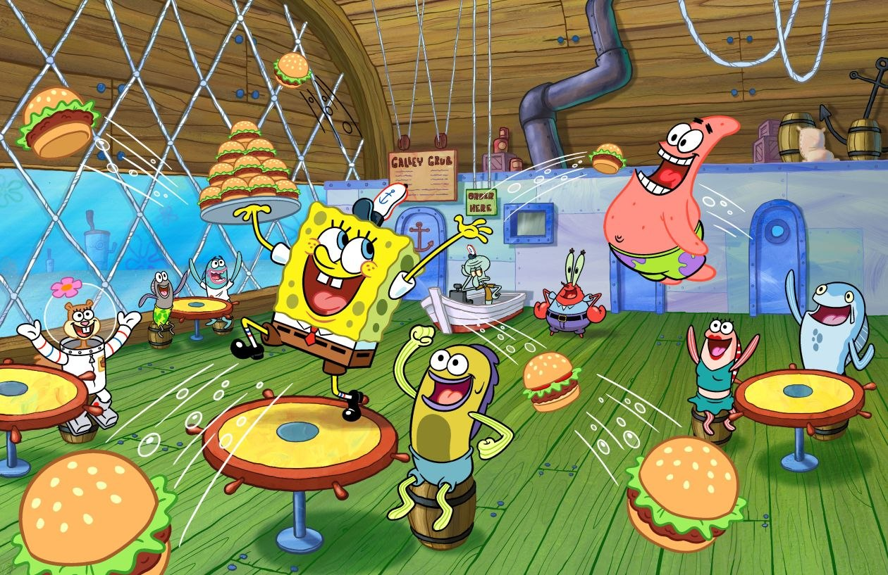 burbank ca nickelodeon announced today that spongebob squarepants the number one animated show for kids 211 has been greenlit for season 12 - Spongbob 2