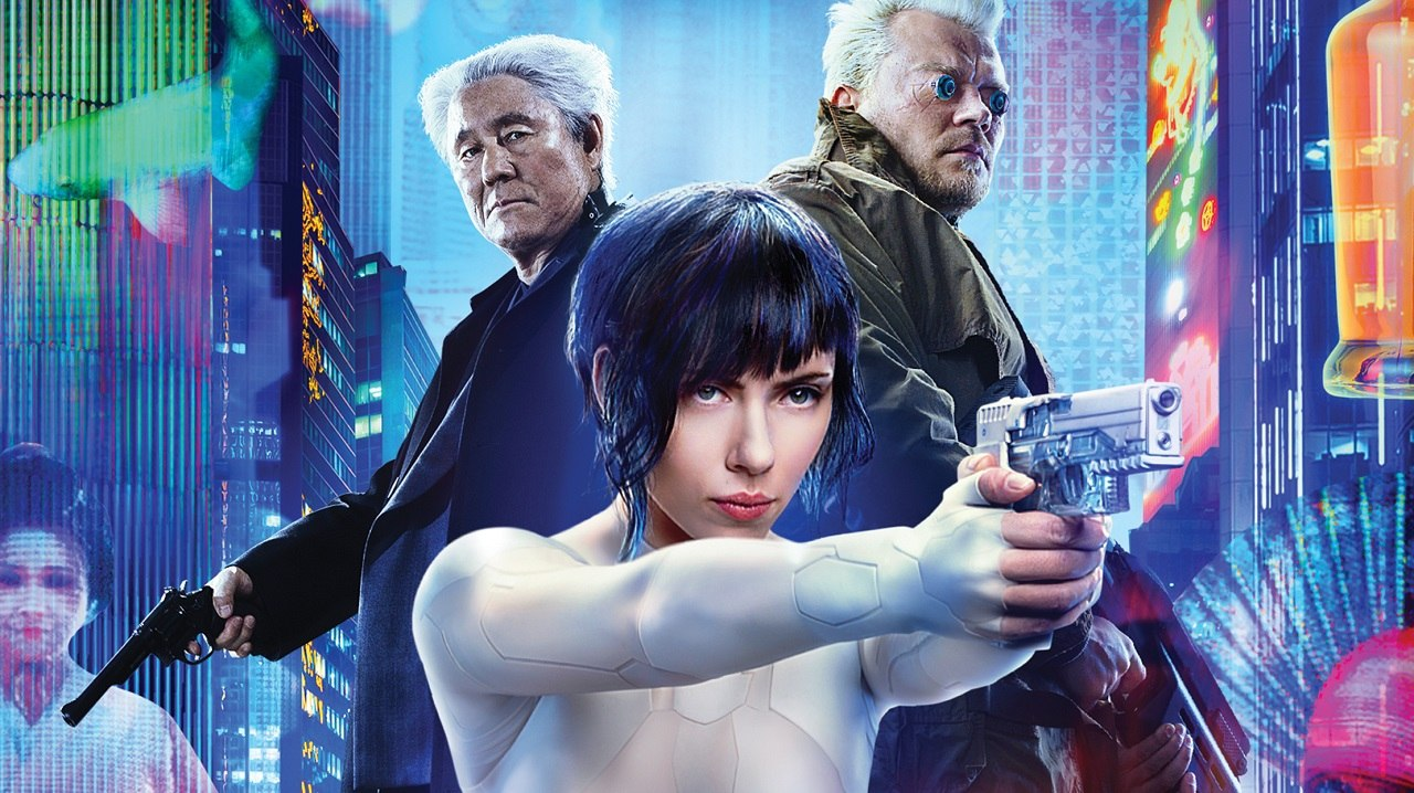 Paramount S Ghost In The Shell Arrives On Blu Ray July 7 Animation World Network