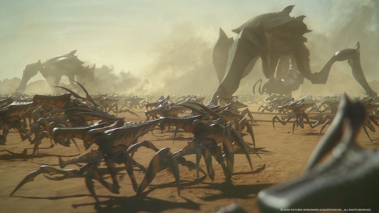 Here comes an animated sequel to Starship Troopers