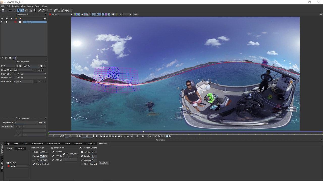 Boris FX to Showcase Mocha VR and New VFX Plug-ins