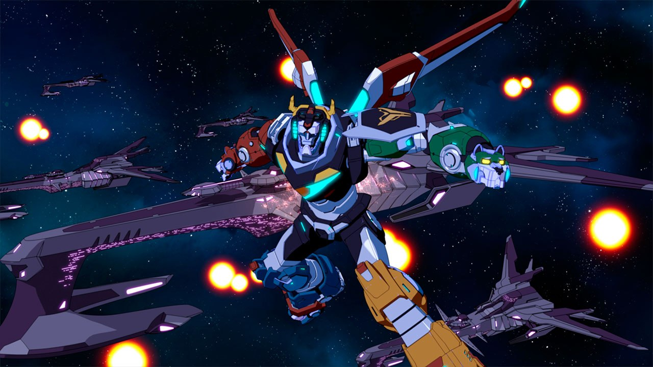 Watch Dreamworks Voltron Legendary Defender Season 4