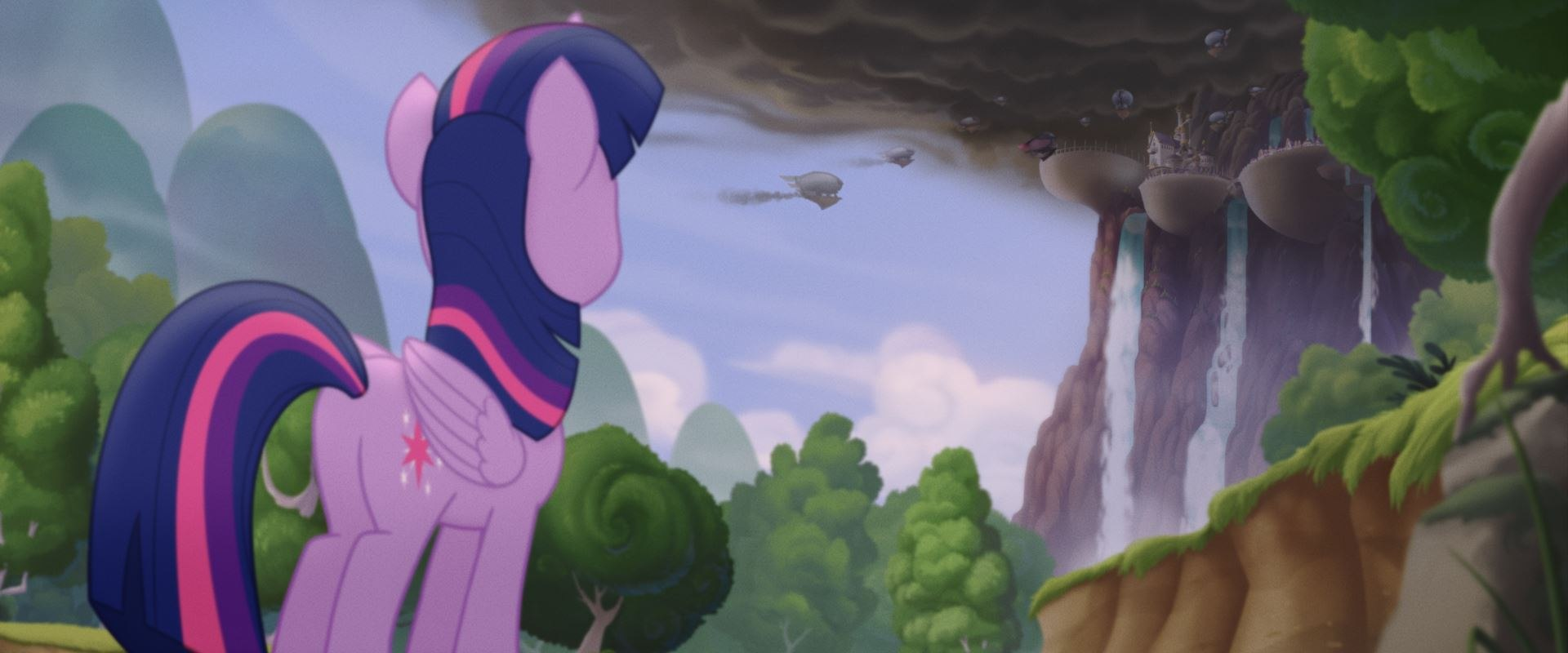 lights camera action the cinematography of my little pony the