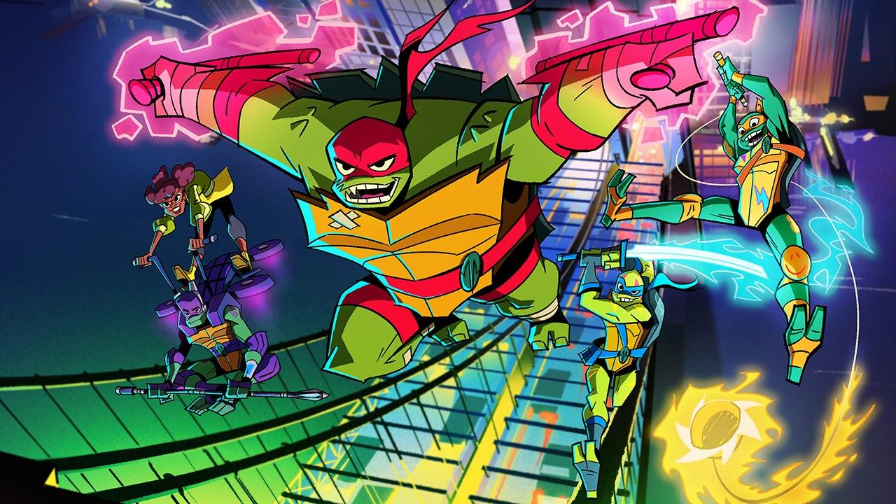 Nickelodeon's 'Rise of the Teenage Mutant Ninja Turtles'