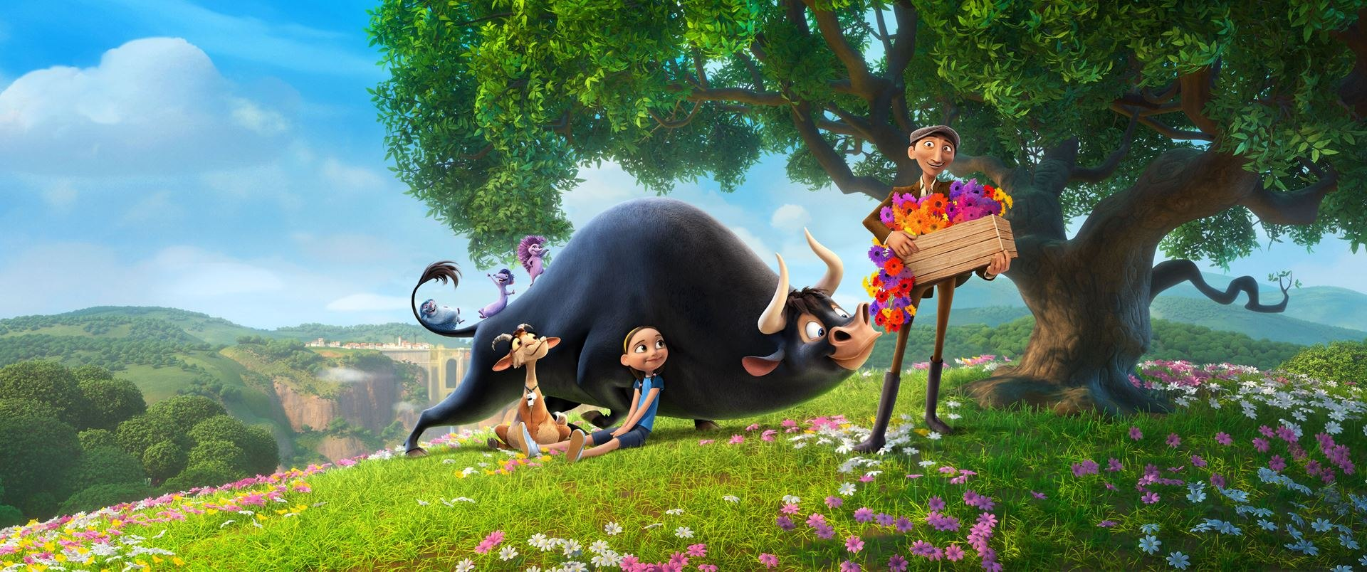 bringing blue sky s ferdinand to the big screen animation world