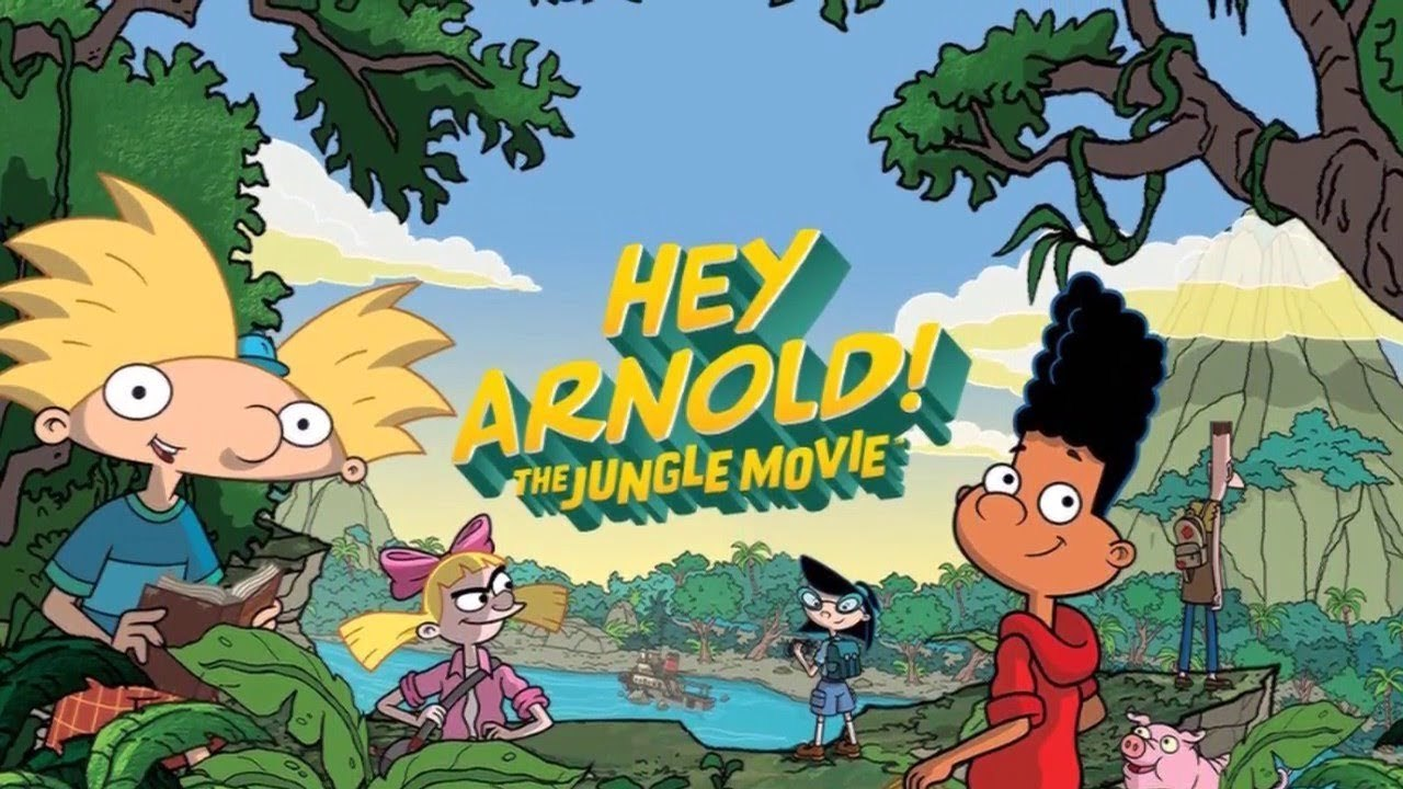 giveaway: win a free dvd of nickelodeon's 'hey arnold!: the jungle
