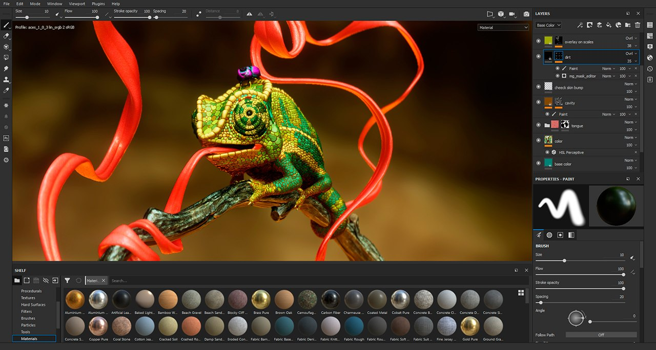 Substance Painter UI Gets Refreshed with Help from Users | Animation