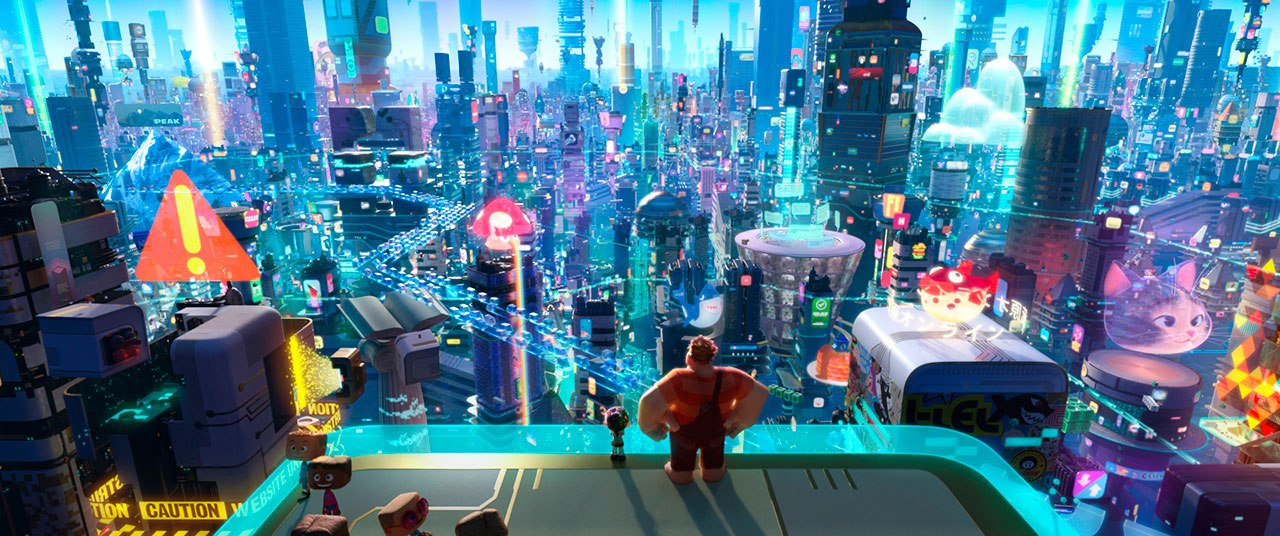 Risultati immagini per Ralph Breaks the Internet: Wreck-It Ralph 2