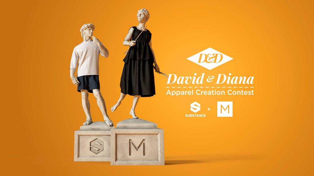 Allegorithmic, CLO Launch Best-Dressed Statue Contest