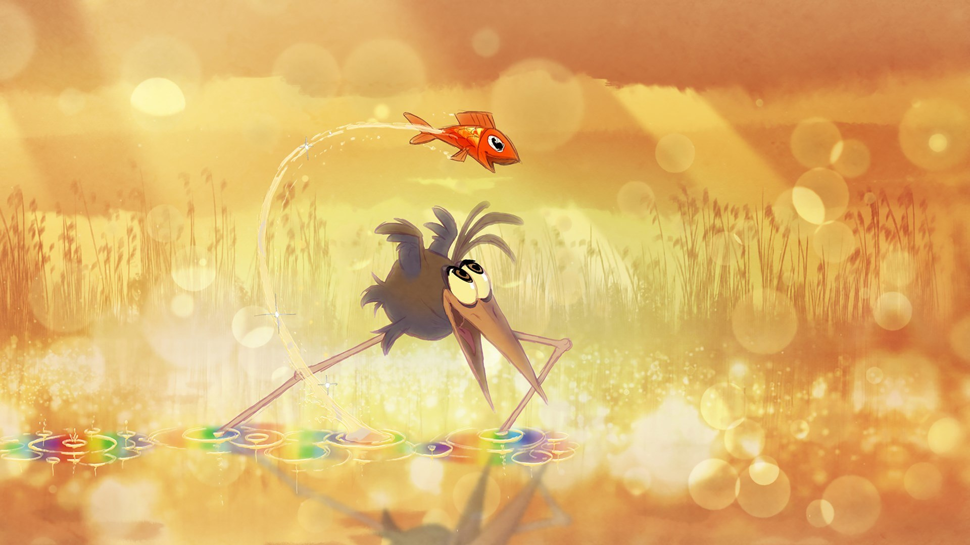 new dreamworks shorts program is for the birds and marsupials