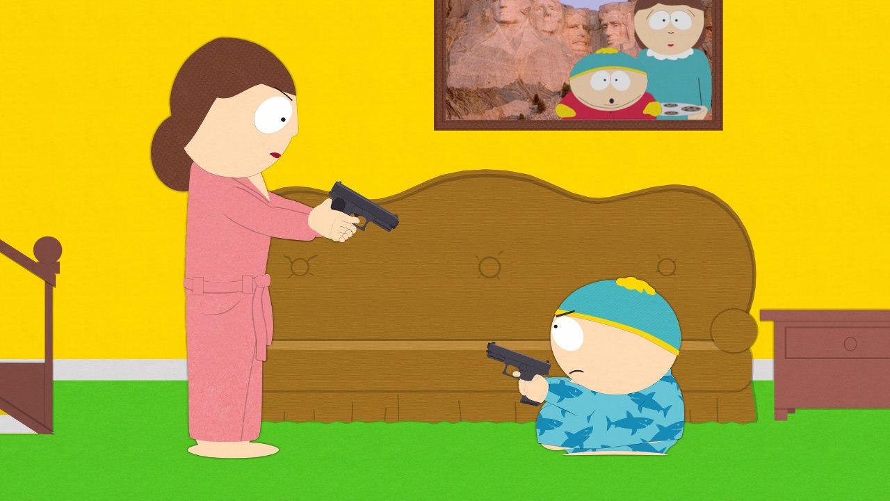 south park return set along with cartman s escape room comic con