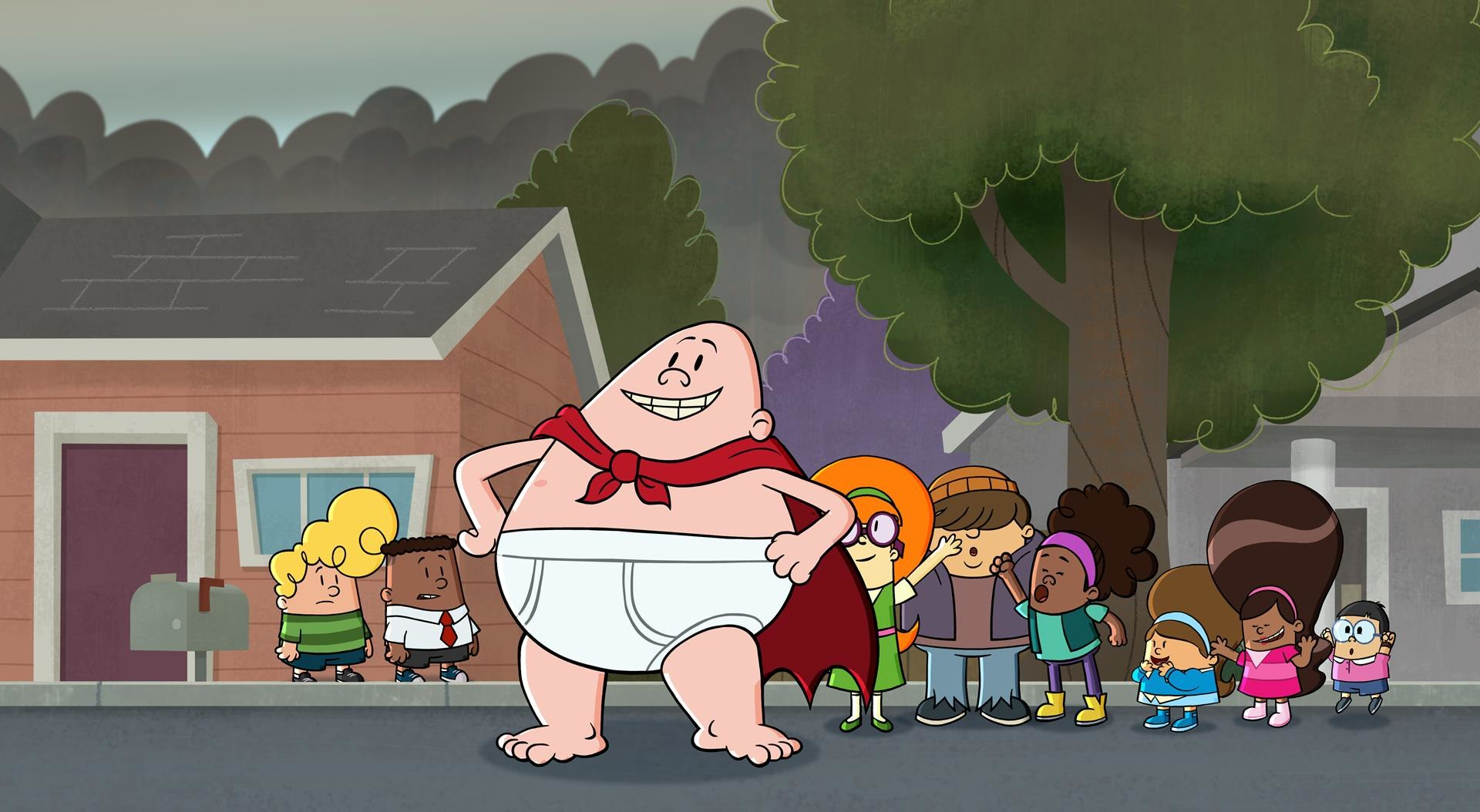 Learn How To Draw Captain Underpants Animation World Network
