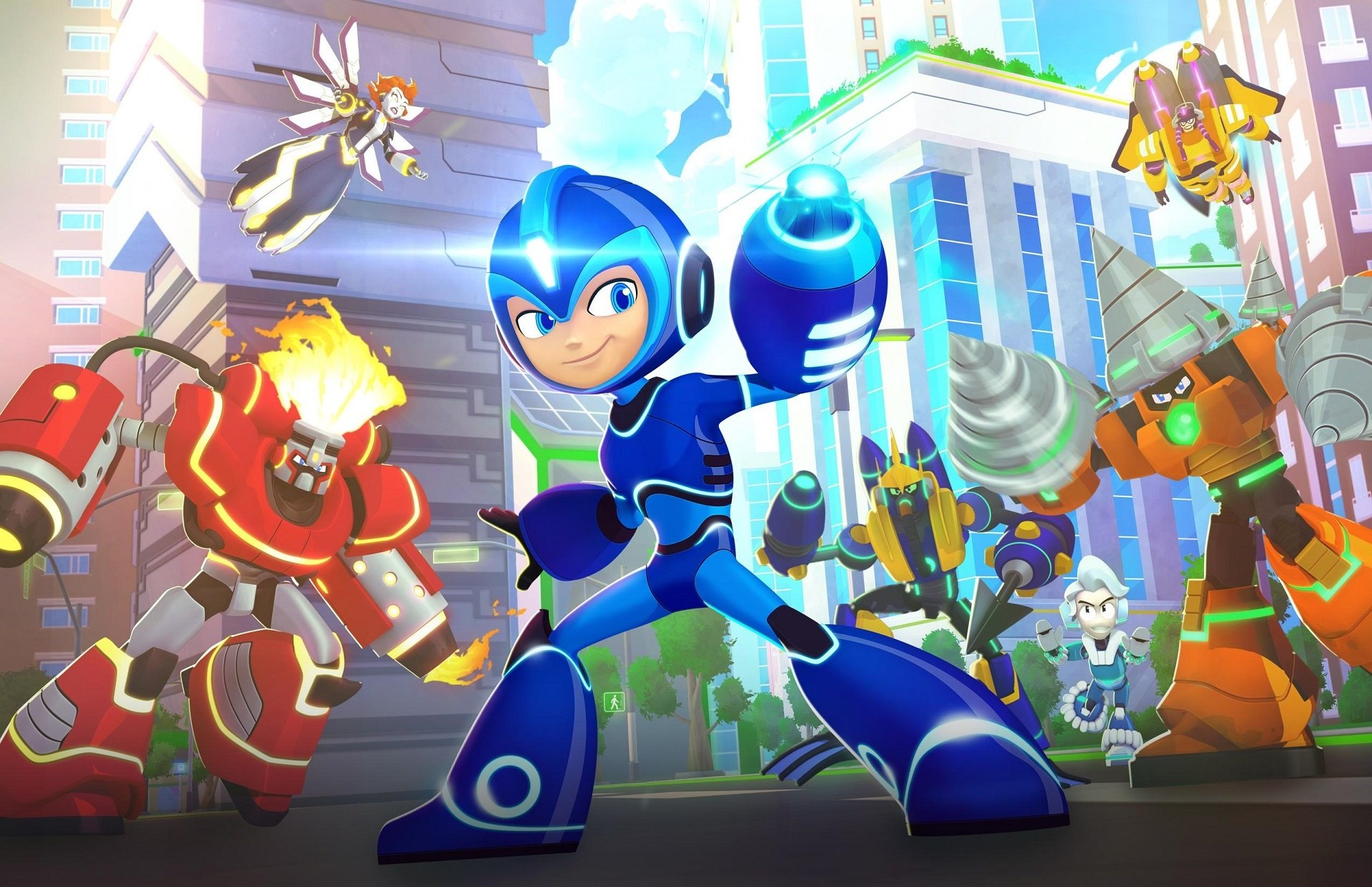 'Mega Man 11' (ALL) Introduces Torch Man Boss - Screens & Trailer