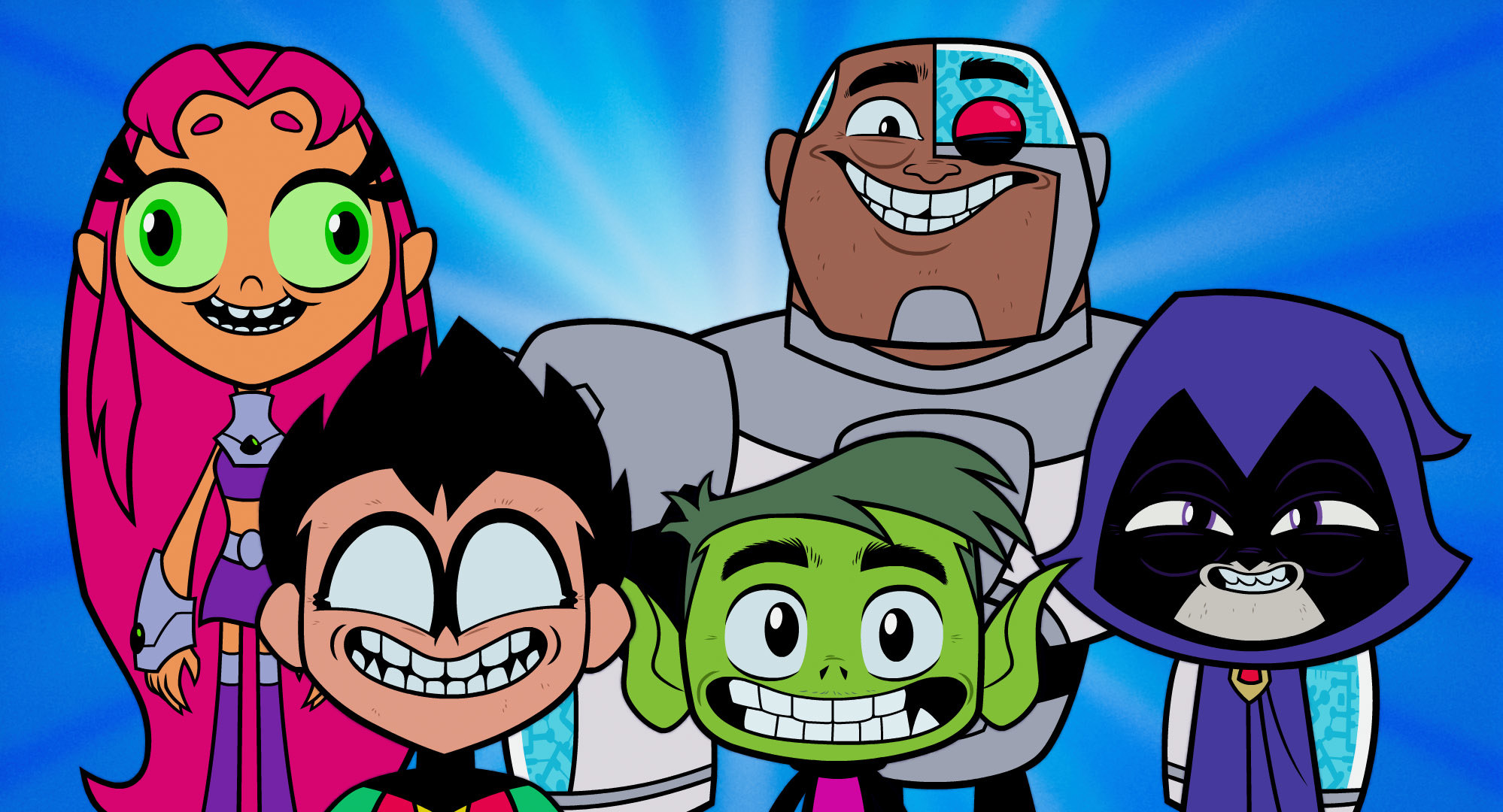 Are definitely Teen titans clips