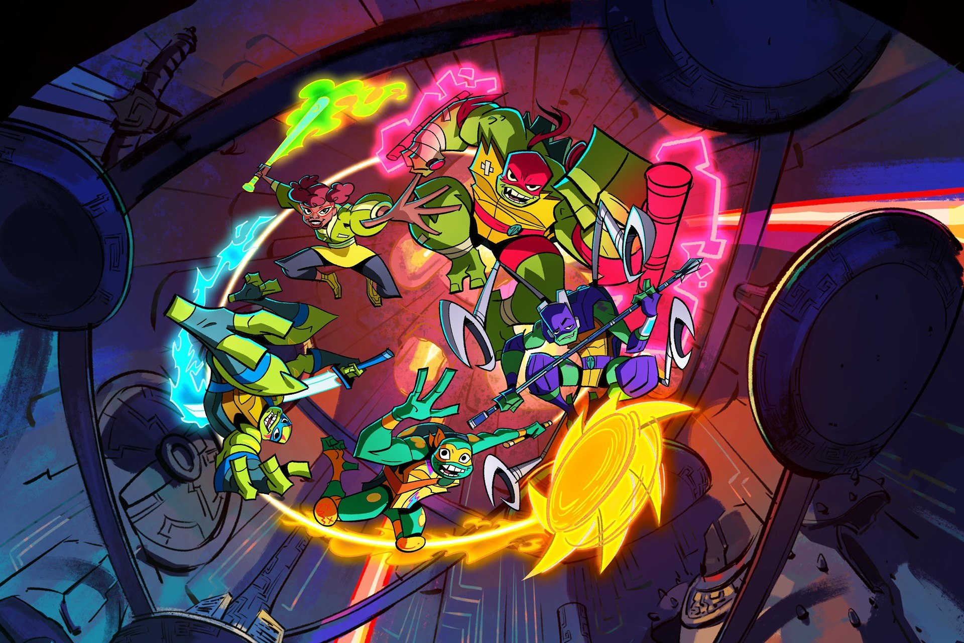 Nickelodeon Brings 'Rise Of The Teenage Mutant Ninja Turtles