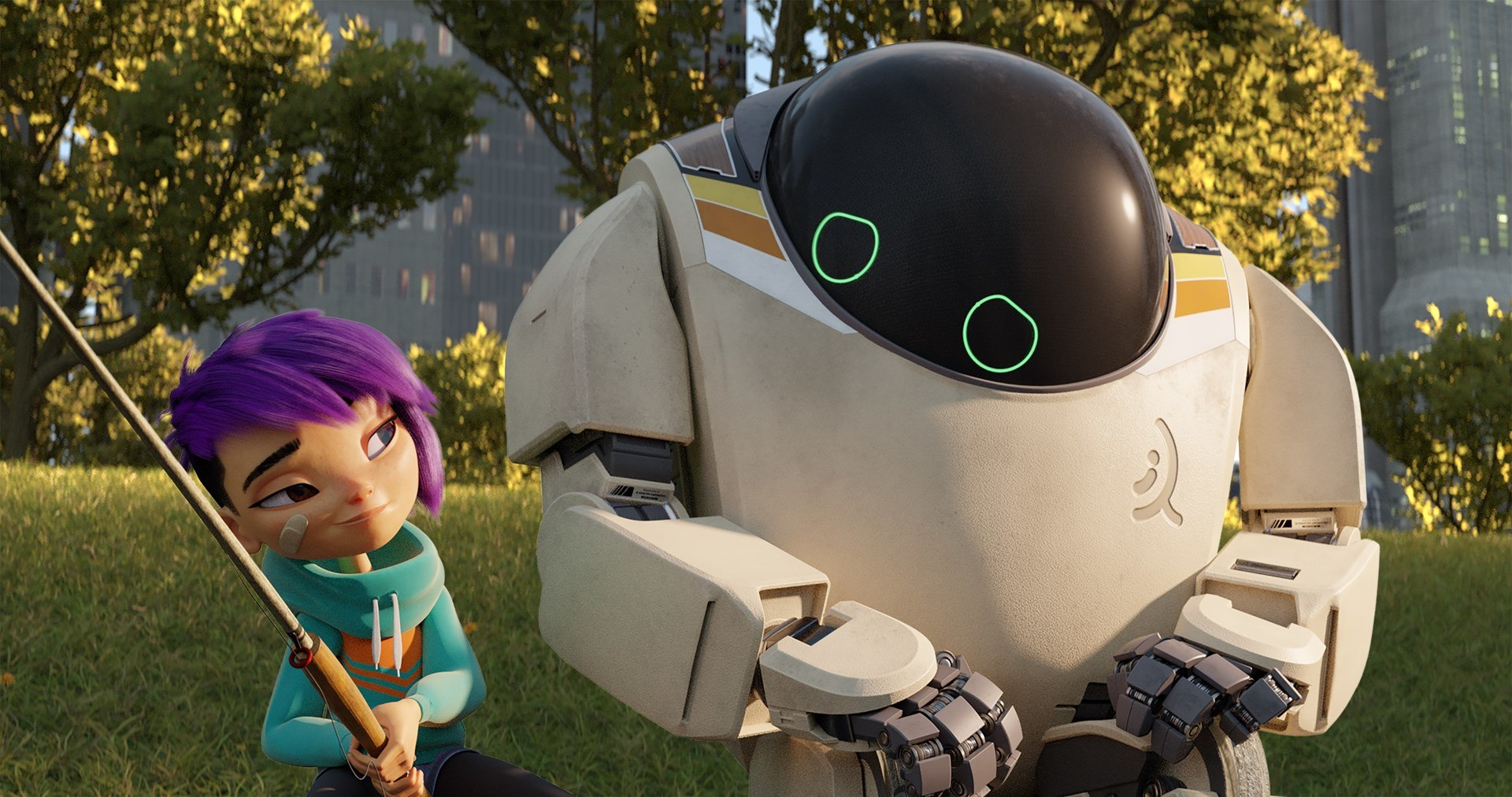 a girl and her robot next gen arrives on netflix animation