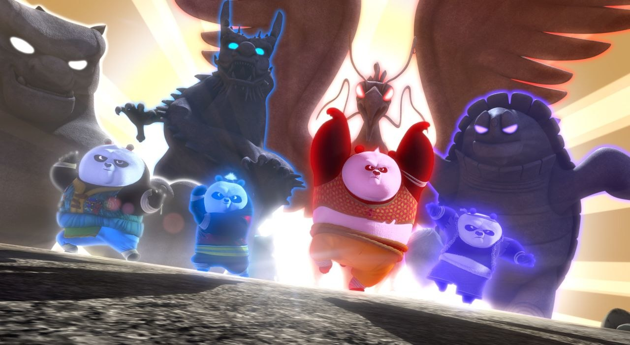 watch: images and official trailer for 'kung fu panda: the paws of