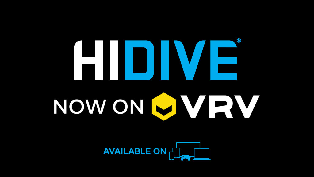 Crunchyroll and VRV End Funimation Deal, Add HIDIVE Channel