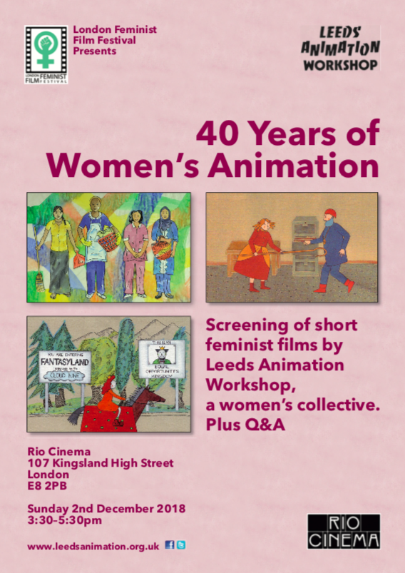 Leeds Animation Workshop At 40 Presented By The London Feminist Film Festival Animation World Network