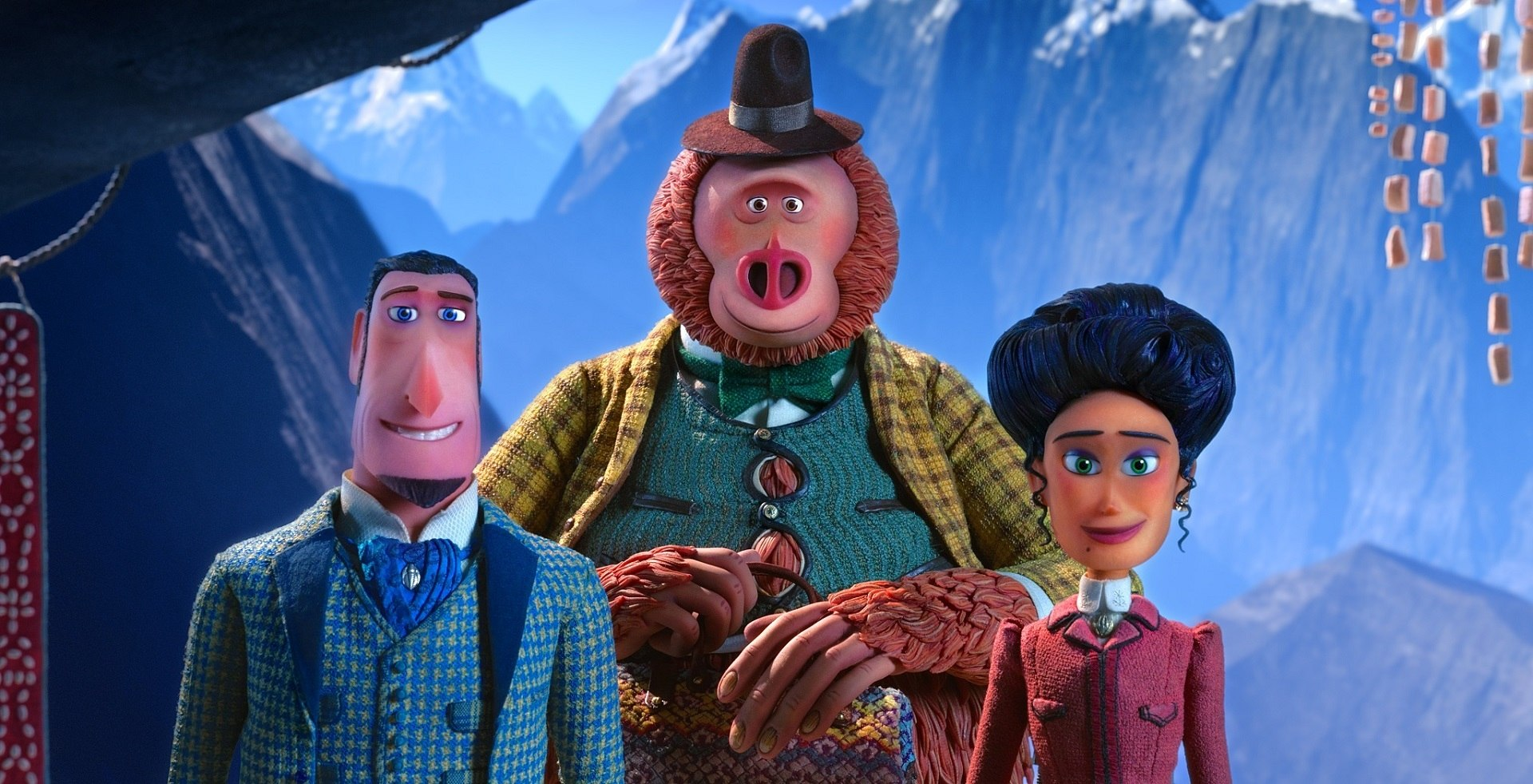 Delightful First Trailer for Laika's New Stop-Motion Film 'Missing Link'