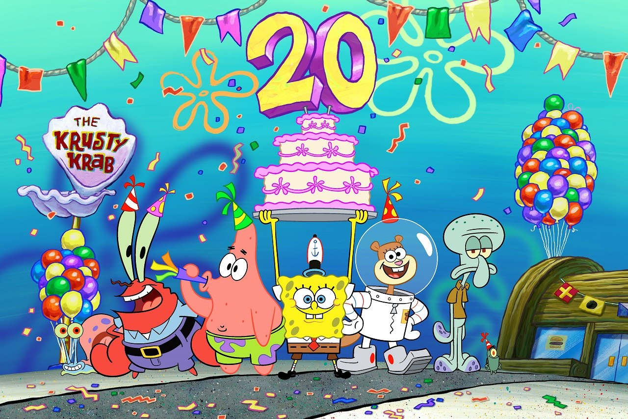 Nickelodeon marks 20 years of spongebob squarepants with best year ever