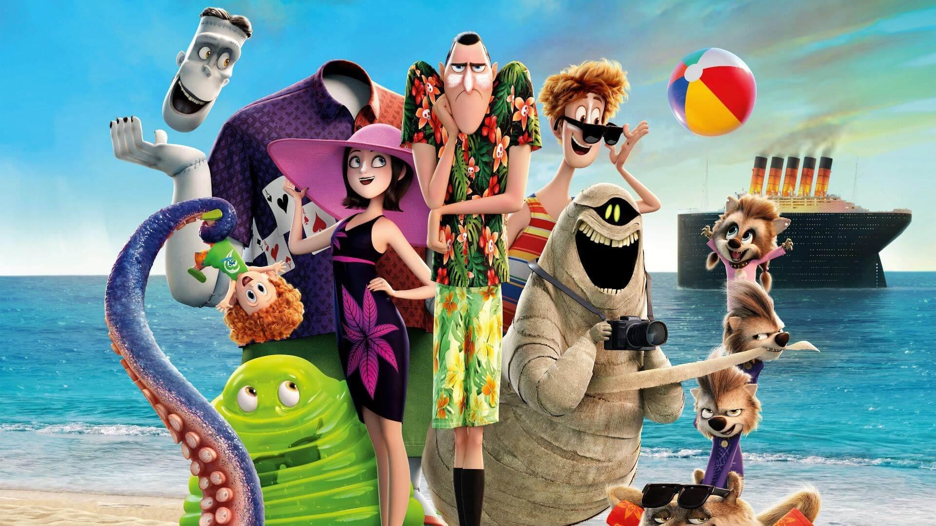 Sony Books Hotel Transylvania 4 For 2021 Animation World Network