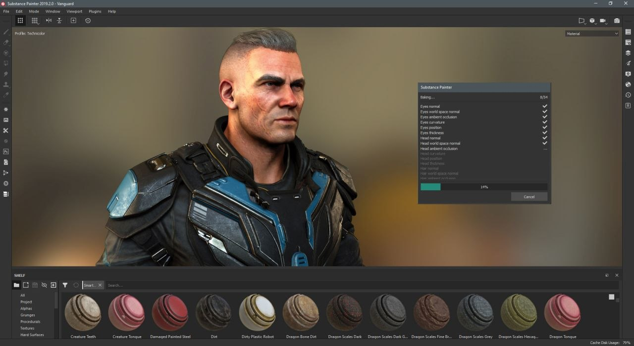 Adobe Releases Substance Painter 2019 2   Animation World