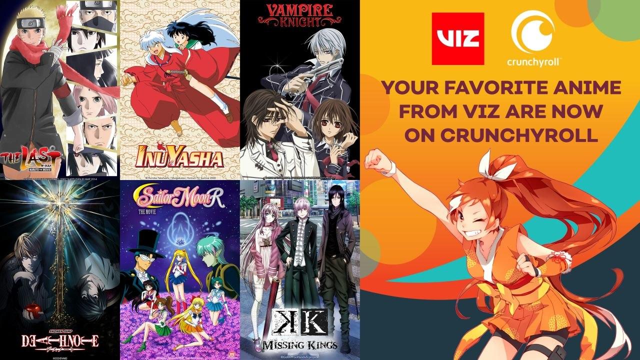 Crunchyroll and VIZ Media Announce Anime Distribution Deal | Animation World Network
