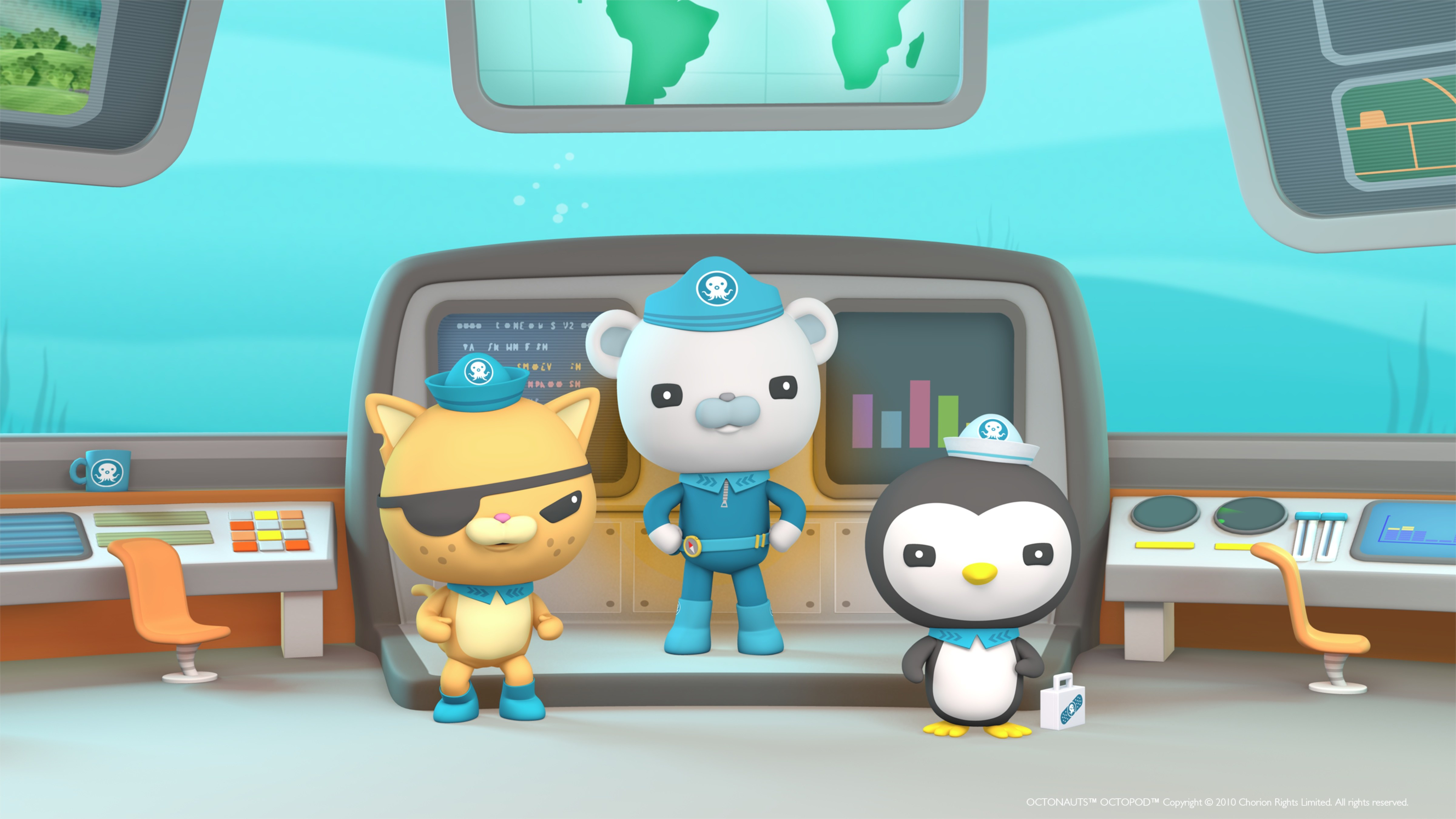Octonauts Join Forces With Noaa Office Of Ocean