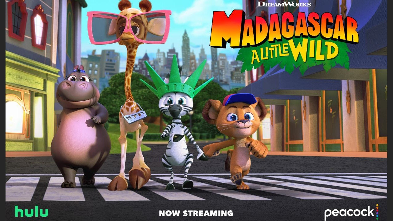 DreamWorks Animation's 'Madagascar: A Little Wild' Season 2 Now Streaming   Animation World Network