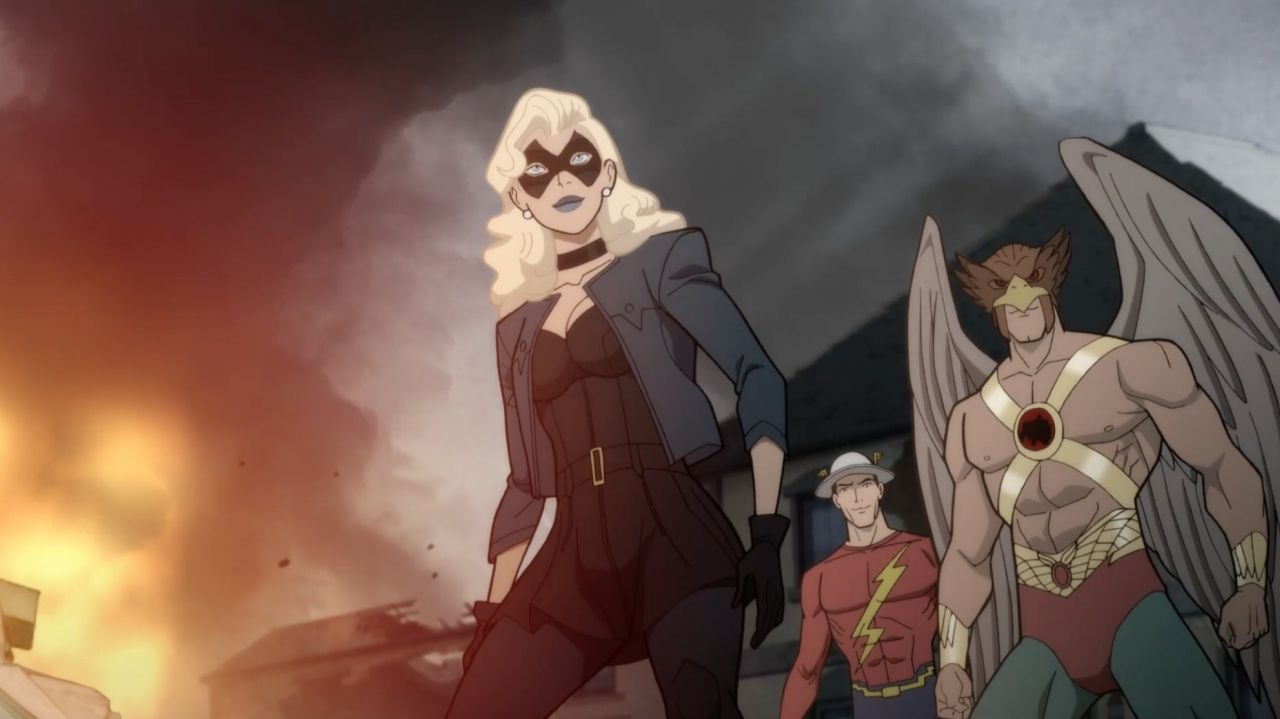 New Teaser and Images Released for DC Universe's 'Justice Society: World War II' | Animation World Network