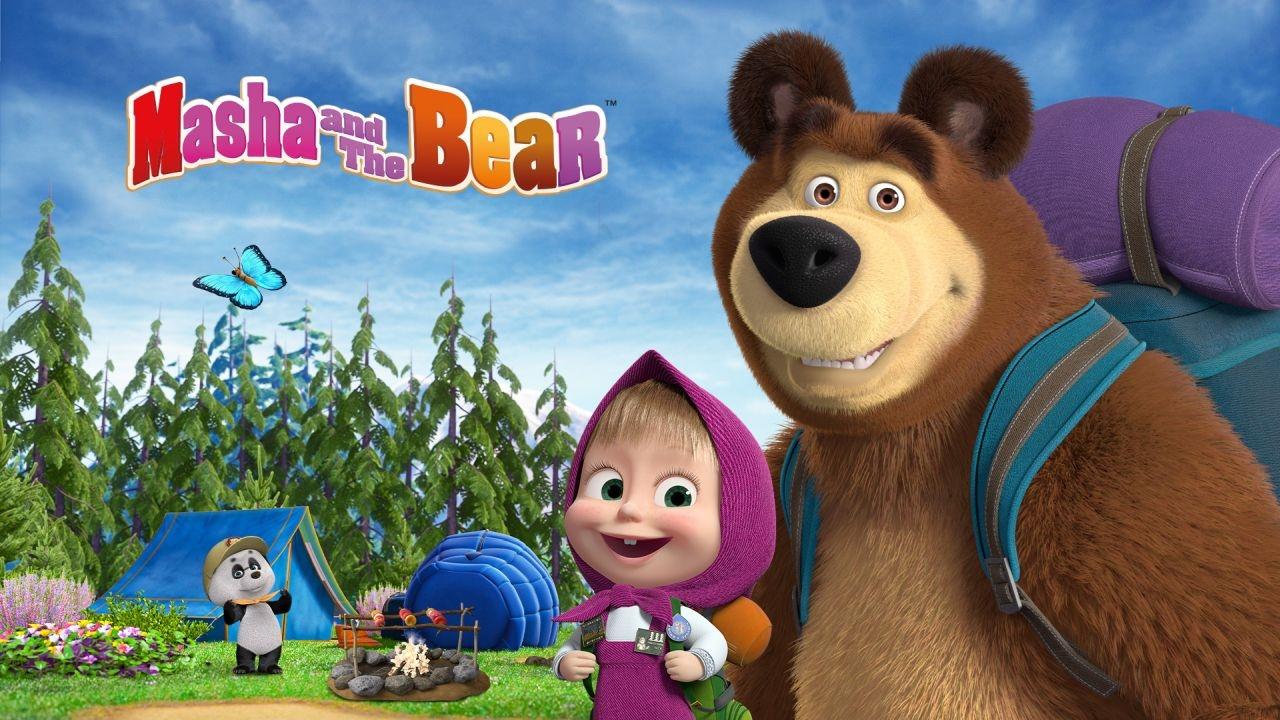 Masha and the Bear game học tiếng Anh cho bé