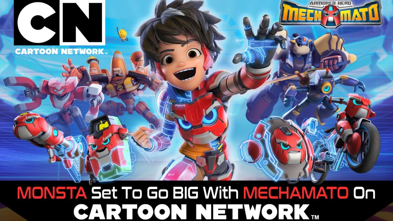 Cartoon Network Picks Up Monsta S Mechamato For Asia Pacific Animation World Network